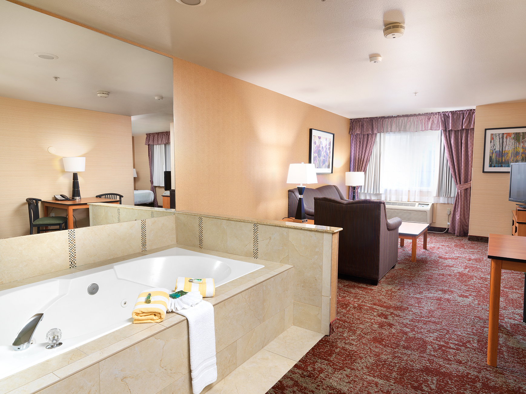 KING EXECUTIVE JETTED TUB SUITE